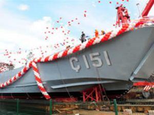 """''Ç-151"""" Deniz Kuvvetleri'ne teslim edildi"""