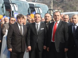 Metro, Karabük'te yeni otobüslerini tanıttı