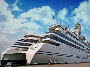 """Çin'in ilk lüks gemisi 6 yıldızlı """"Çin Star"""""""