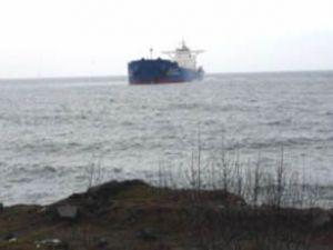 Zonguldak'ta kuru yük gemisi karaya oturdu