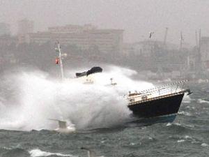 Antalya'da bu gece kuvvetli fırtına bekleniyor