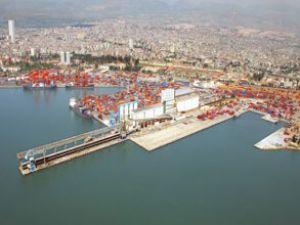 Mersin Limanı'nda yük trafiği azaldı