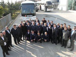 Metro Turizm'e 15 adet Neoplan otobüs