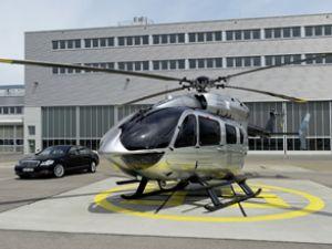 Mercedes gibi helikopter sahnede!