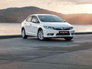 Yeni Honda Civic'i Antalya'da test etti