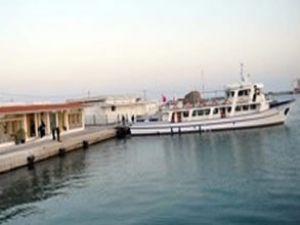 Türk gemisi Yunanistan'da tutuldu