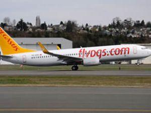 Pegasus'un yeni uçağı Türkiye'de