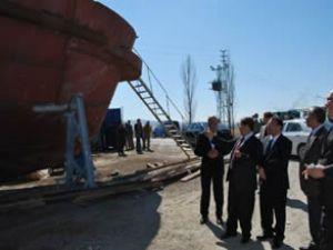 Malatya gemisi Mayıs'ta suya inecek