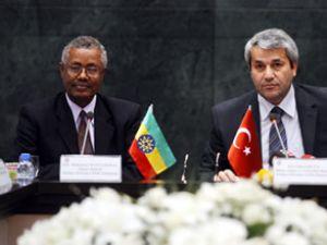 Etiyopya ile 1 milyar dolarlık ticaret hedefi