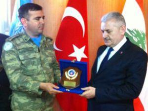 Bakan Yıldırım'dan Türk Birliği'ne ziyaret