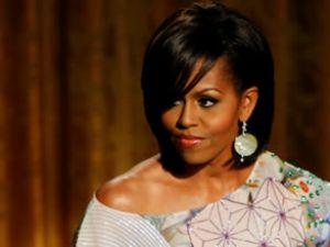 Michelle Obama'nın kumaşı Bossa'dan
