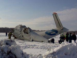 Rusya'da 43 kişinin bulunduğu uçak düştü