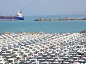 İskenderun Limanı'ndan araç sevkiyatı