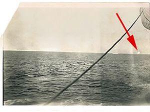 Titanic'i batıran buzdağının fotoğrafı