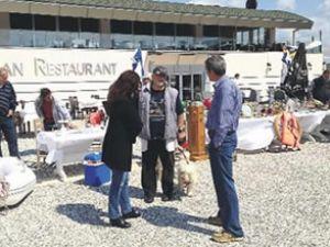 TEOS Marina'da 2. el pazarı açılıyor