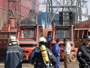Tuzla Tersanelerinde patlama: 2 ölü