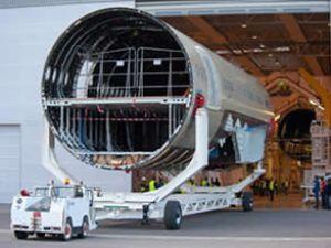 Airbus A350 XWB'nin son montajına başladı