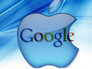 Apple hissesi Google'ı ilk kez geçti