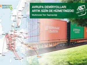 Borusan'dan Avrupa'ya tarifeli tren seferi