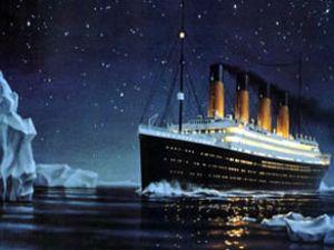 Buz dağları gemiler için tehdit oluşturuyor