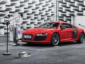 Audi mühendisleri motor sesi geliştiriyor