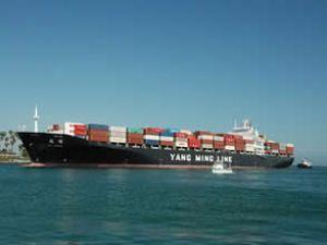 Makina arızası yapan gemi karaya oturdu