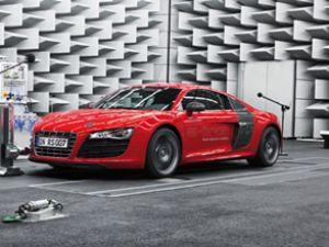 Audi mühendisleri oto sesini besteliyor