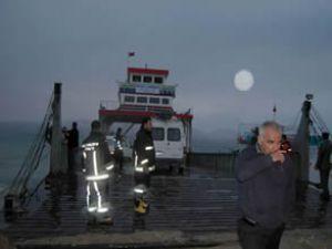 'Arızalı feribota sağlam raporu verildi'