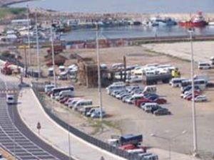 Giresun limanı ithalata kapalıymış!