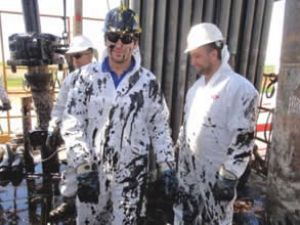 Kaliteli petrol fışkırıyor
