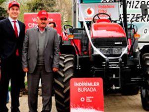 Vodafone'dan 4. traktör