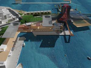 Urla Çeşmealtı marina projesine tepki
