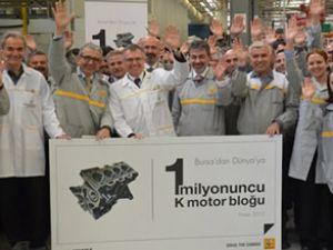 Renault'tan 4 yılda 1 milyon motor bloğu