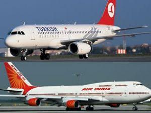 THY ve Air India'dan ortak uçuş anlaşması