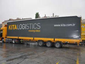 Kıta Lojistik ilk 3 ayda 25 bin ton taşıdı