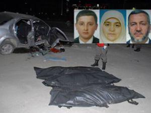 Cenazeden dönen imam kaza yaptı: 3 ölü