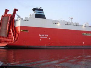 MV Tamesis'e yeni temizleme sistemi