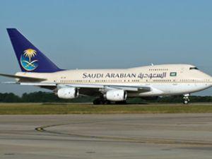 Suudi Arabistan'da uçak acil iniş yaptı