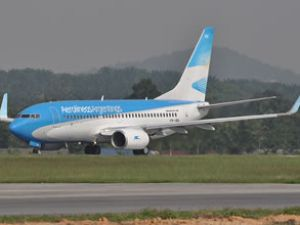 Aerolineas Argentinas türbülansa girdi