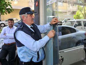 Galericilerden belediyeye protesto