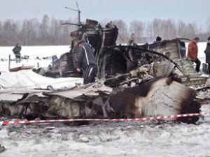 Sırbistan'da orduya ait bir eğitim uçağı düştü