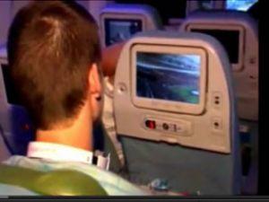 THY yolcuları derbiyi havada izledi