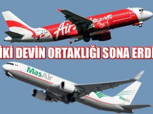 MAS ile AirAsia, ortaklığı sonlandırıldı