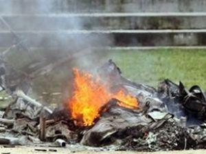 Cinayet sanığı helikopter düşünce öldü
