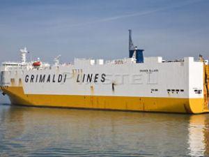 Grimaldi'nin gemisinde silah yakalandı