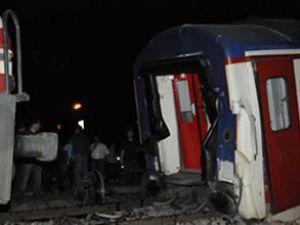 Adana'da tren kazası: 15 kişi yaralandı