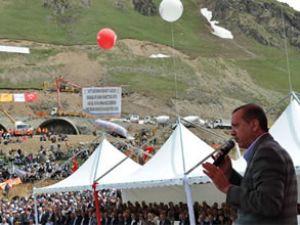Erdoğan, Ovit Tüneli'nin temelini attı