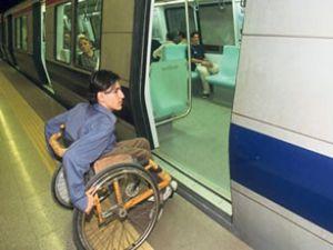 Engelli yolcuya iletişim rehberi hazırlandı