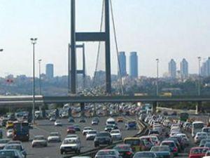 Trafikteki motorlu taşıt sayısı yükseldi