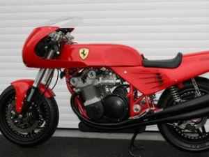 Ferrari motosiklet yeni sahibine kavuştu
